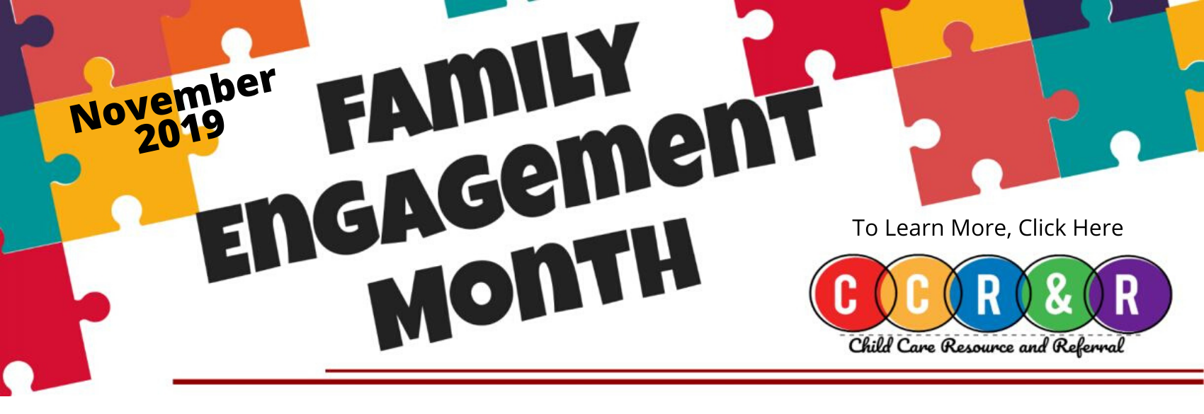 2019 Family Engagement Month