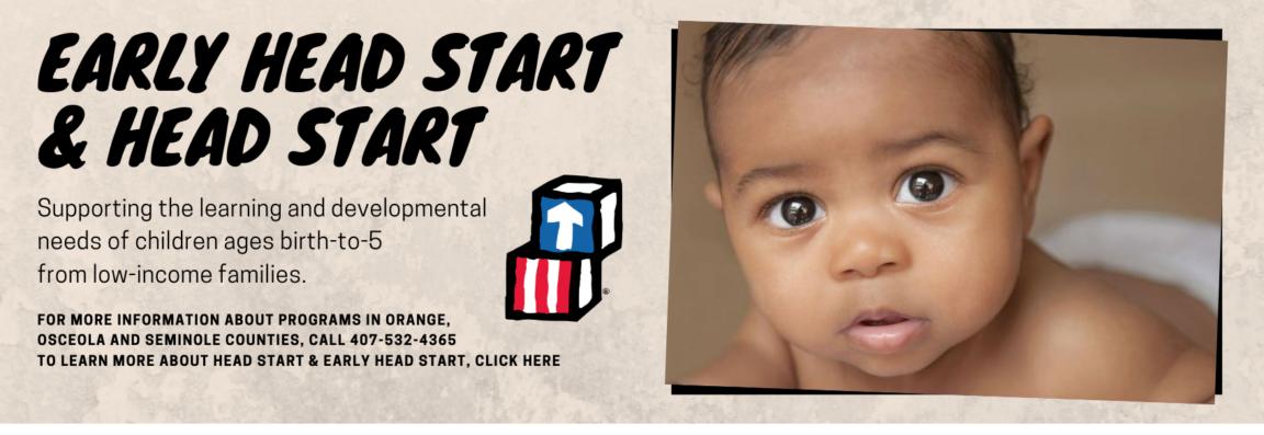 Head Start homepage slider