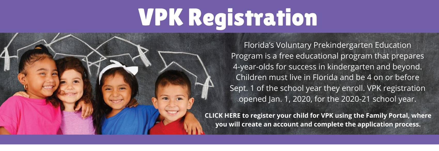 VPK Registration