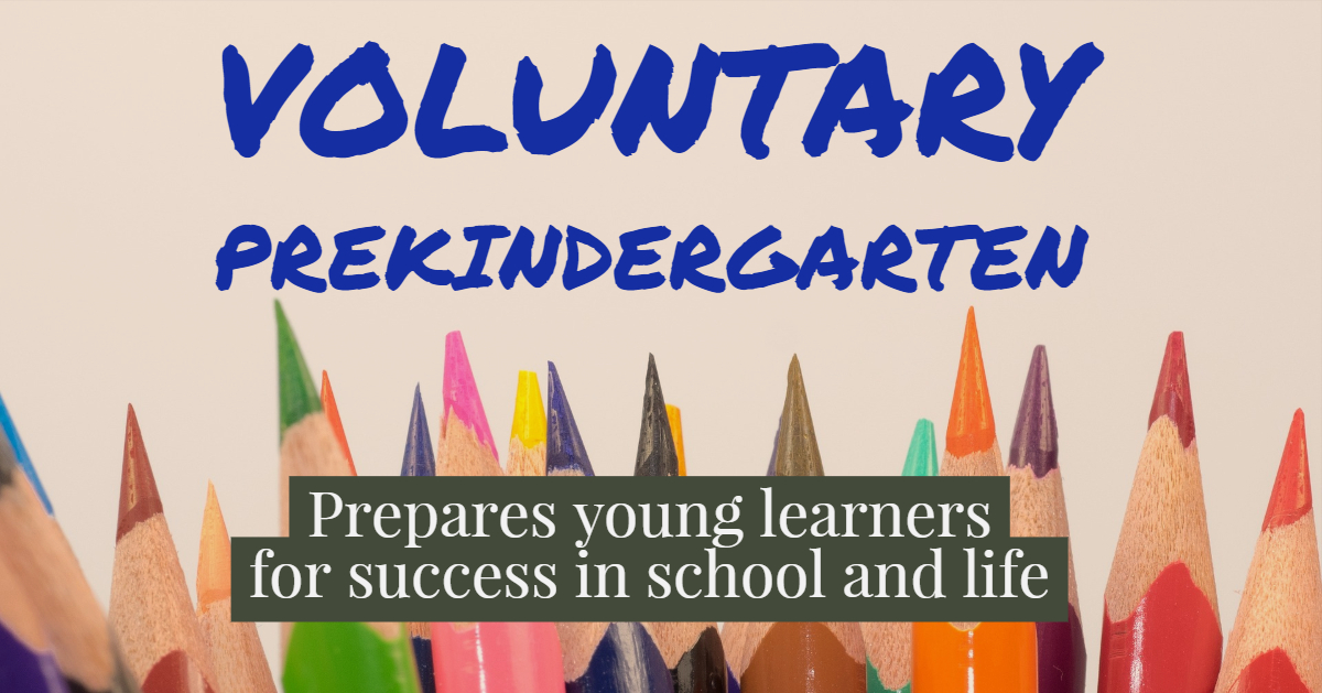 Florida Voluntary Pre-Kindergarten for 4-year-old children